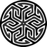 Adorno redondo islámico Foto de archivo libre de regalías