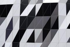 Adornos abstractos de la pared del edificio Imagen de archivo