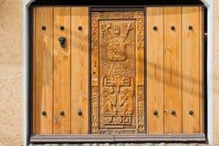 Adornos aztecas Ciudad de México Imagenes de archivo