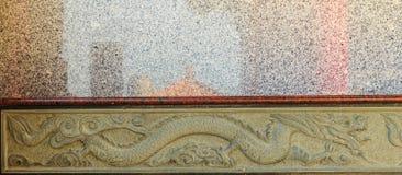 Adornos chinos, tallas de piedra, que son la materia prima piedra Imagenes de archivo