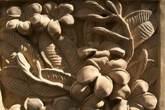 Adornos de la flor del Frangipani Fotos de archivo