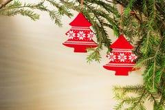adornos de la Navidad Fotografía de archivo libre de regalías