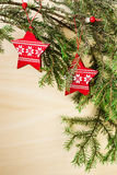 adornos de la Navidad Imágenes de archivo libres de regalías