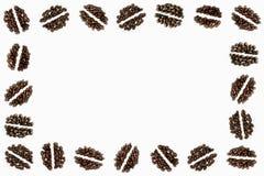 Adornos del grano de café Fotos de archivo