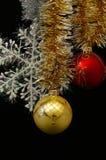 adornos del Nuevo-año Foto de archivo libre de regalías
