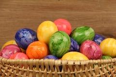 Adornos en el tema de Pascua Imagen de archivo libre de regalías