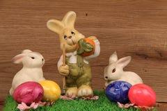 Adornos en el tema de Pascua Imagen de archivo