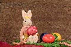 Adornos en el tema de Pascua Fotografía de archivo