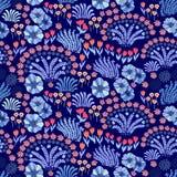 Adornos florales orientales Fotos de archivo