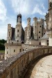 Adornos heráldicos en el castillo Chambord. Fotos de archivo libres de regalías