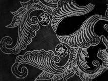 Adornos hermosos del batik Fotografía de archivo