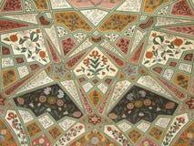 Adornos ornamentales geométricos Fotos de archivo libres de regalías