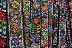 Adornos rumanos tradicionales Imagen de archivo