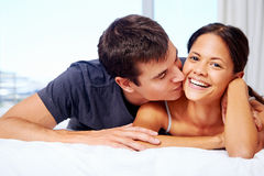 Multiracial couple Royalty Free Stock Images
