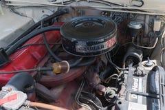 Ładowarki 225 silnik na pokazie Obrazy Royalty Free
