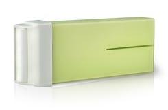 Ładownica z woskiem dla depilaci na stronie Zdjęcia Stock