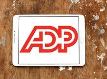ADP, logotipo do processo de dados automático Imagens de Stock Royalty Free