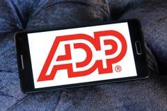 ADP, logotipo do processo de dados automático Foto de Stock