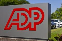 ADP-relative Satznummer I Lizenzfreies Stockbild