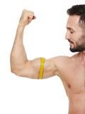 Adquisición del músculo Foto de archivo libre de regalías