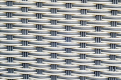 Adquisición del plástico tejido Foto de archivo