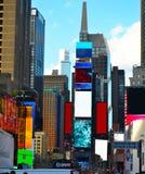 Adquisición en Times Square Imágenes de archivo libres de regalías