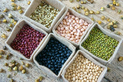 Adra, zboże, zdrowy jedzenie, odżywiania łasowanie Obraz Stock