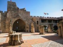 Adrada castle, Avila, Castilla y Leon, Spain Stock Images