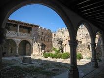 Adrada-Schloss, Avila, Kastilien y Leon, Spanien Lizenzfreie Stockbilder
