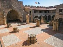 Adrada-Schloss, Avila, Kastilien y Leon, Spanien Stockfotografie