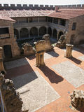 Adrada-Schloss, Avila, Kastilien y Leon, Spanien Lizenzfreie Stockfotos
