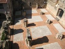 Adrada-Schloss, Avila, Kastilien y Leon, Spanien Stockbild