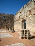 Adrada-Schloss, Avila, Kastilien y Leon, Spanien Stockbilder