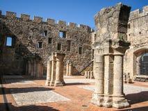 Adrada-Schloss, Avila, Kastilien y Leon, Spanien Stockfoto