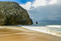 Adraga-Strand - Portugal Lizenzfreies Stockfoto