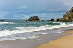 Adraga-Strand - Portugal Lizenzfreie Stockfotografie