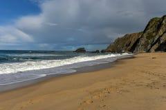 Adraga-Strand - Portugal Lizenzfreie Stockbilder