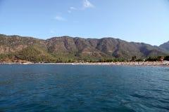 Adrasan Bay. Beach in Antalya, Turkey Stock Images