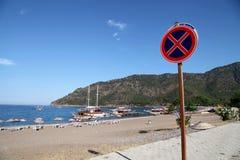 Adrasan Bay. Beach in Antalya, Turkey Royalty Free Stock Photo