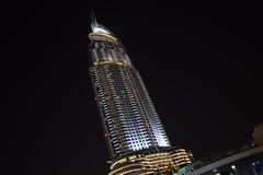 Adreßhotel, im Stadtzentrum gelegenes Dubai Stockfotografie