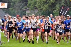 Adrenalin Cup 2010, Runners On Start, 2010 Royalty Free Stock Photos