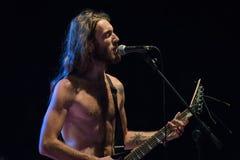 Adrenalin-Dosis Live am Pollo-Metallfest BG Stockbild