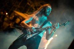 Adrenalin-Dosis Live am Pollo-Metallfest BG Stockbilder