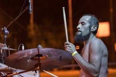 Adrenalin-Dosis Live am Pollo-Metallfest BG Lizenzfreies Stockfoto