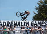 Adrenalin Games in Moscow, Russia, Royalty Free Stock Photos