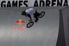 Adrenalin-Spiele in Moskau, Russland, Lizenzfreies Stockbild