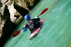Adrenalina en el río Imagenes de archivo