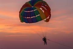 Adrenaline-Abenteuer erwartet Sie an Patong-Strand Phuket Thailand Lizenzfreie Stockfotos