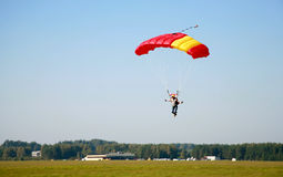 Adrenaline Rush. Sky Diving - Concept of Extreme Sports royalty free stock images