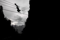 Adrenaline sport Stock Photography